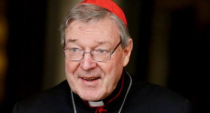 Cardinal George Pell Bail Application Withdrawn Jailed for Molesting Boys