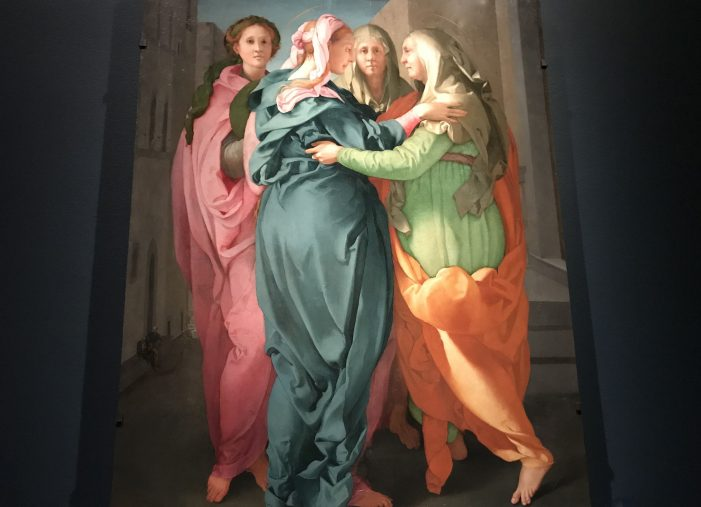 Rare 'Visitation' by Pontormo Altarpiece at Getty