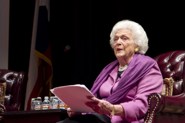Barbara Bush Was Suicidal Due to George's 12 Year Affair With His Aide