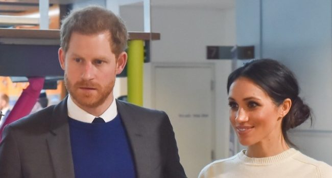 Meghan Markle glows in green from Erdem as she joins Prince Harry