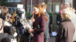 Queen Elizabeth II and Kate Middleton Take an Outing Together
