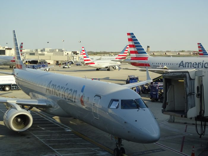 American Airlines Drunk Passenger Urinates on Another Passenger's Luggage
