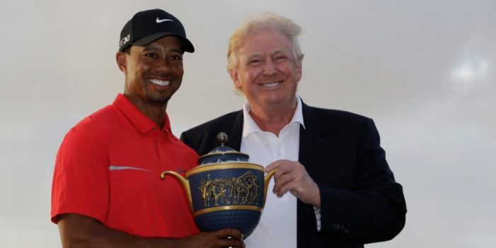 Tiger Woods to Be Awarded the Presidential Medal of Freedom From Trump