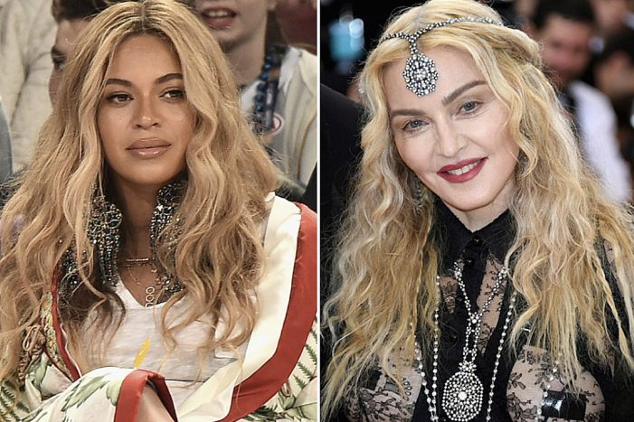 "Madonna's New Single ""Medellin"" Bombs on Spotify and Itunes, Beyonce Rules"