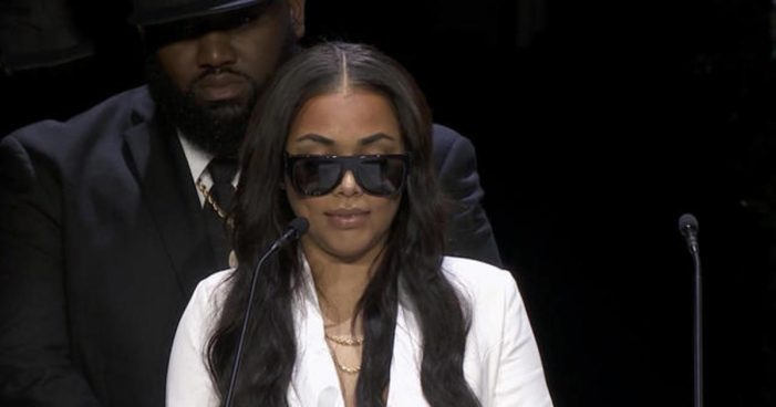 Lauren London Gets Inked to Honor and Tribute Nipsey Hussle