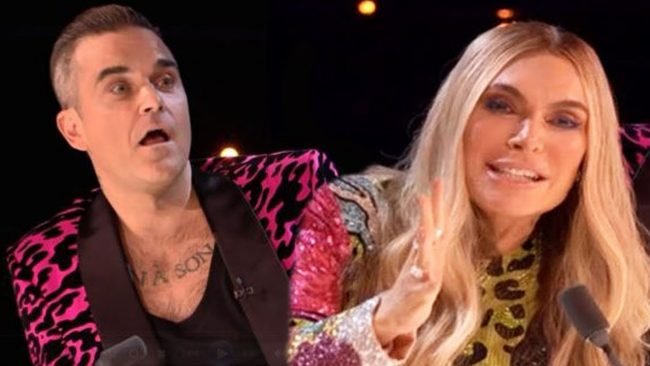Robbie Williams and His Wife Ayda Field Quit X Factor