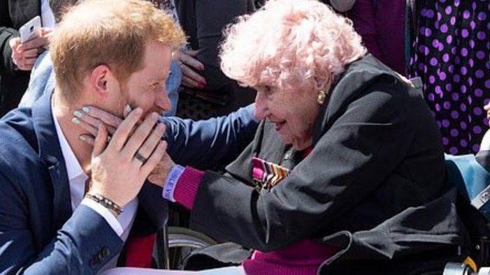 Prince Harry's Heartache as Australian Superfan Daphne Dunne Dies at 99