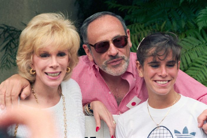Joan Rivers' Daughter Melissa Speaks About Her Father's Suicide