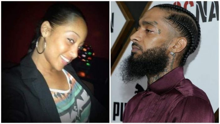 Tanisha Asghedom Was Left Out of Nipsey Hussle's Memorial Service [Video]