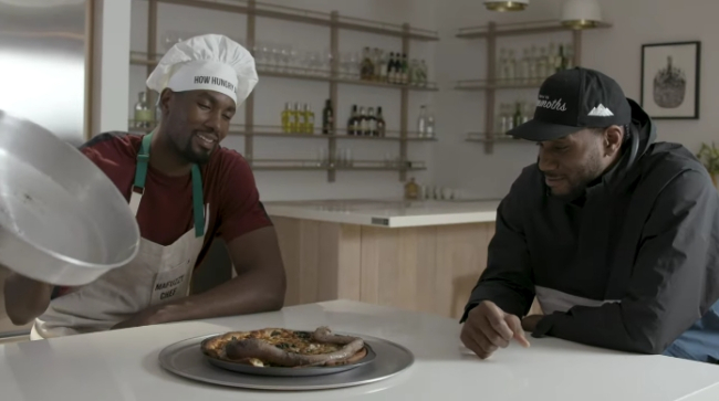Penis Pizza?  Raptors' Serge Ibaka and Kawhi Leonard Say YES! [Video]