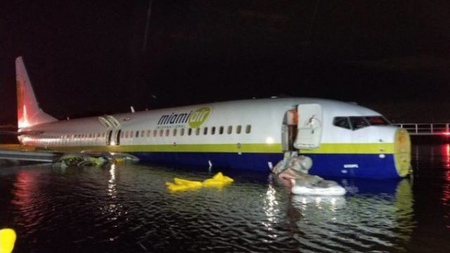 Pets Trapped Aboard Boeing 737 Plane Which Skidded Off Runway Into a Florida River