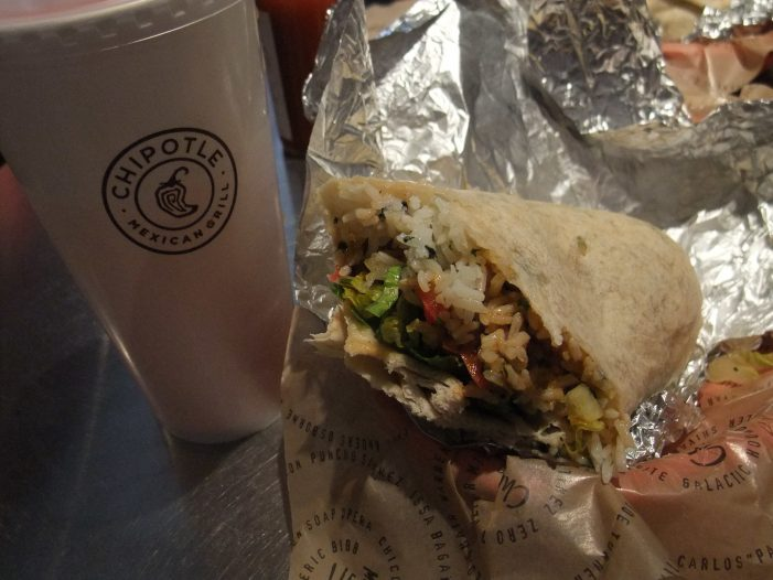 Chipotle Is Giving Five People Free Burritos for a Year