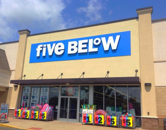 Five Below Customers Will See Products Over $5 in Stores Now