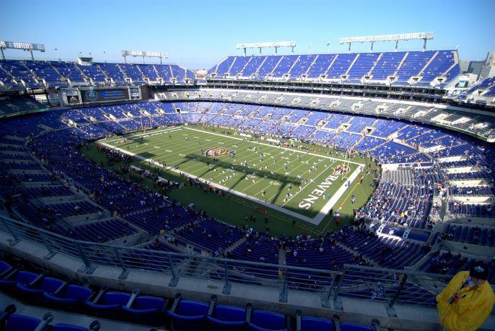 Body Discovered in Porta-Potty in Parking Lot of M&T Bank Stadium