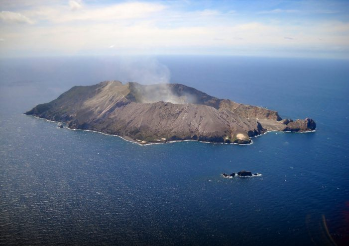 White Island Volcano Erupts Off Coast of New Zealand