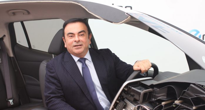 Carlos Ghosn Is Comfortable Back in the Light of the Media