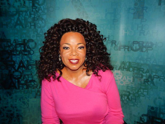 Oprah Winfrey Falls During 2020 Vision Tour