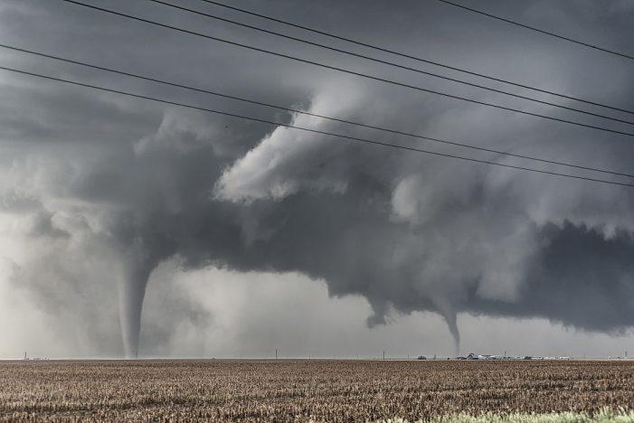 Tornadoes Sweep Through Oklahoma, Louisiana, and Texas