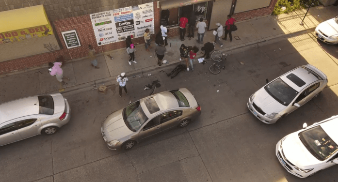 Chicago Looting and Fires Shut Down the City